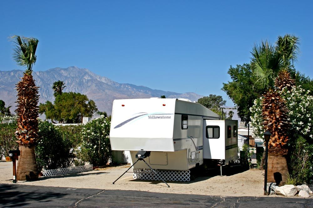 Pick the perfect site at our RV Park in Desert Edge, CA